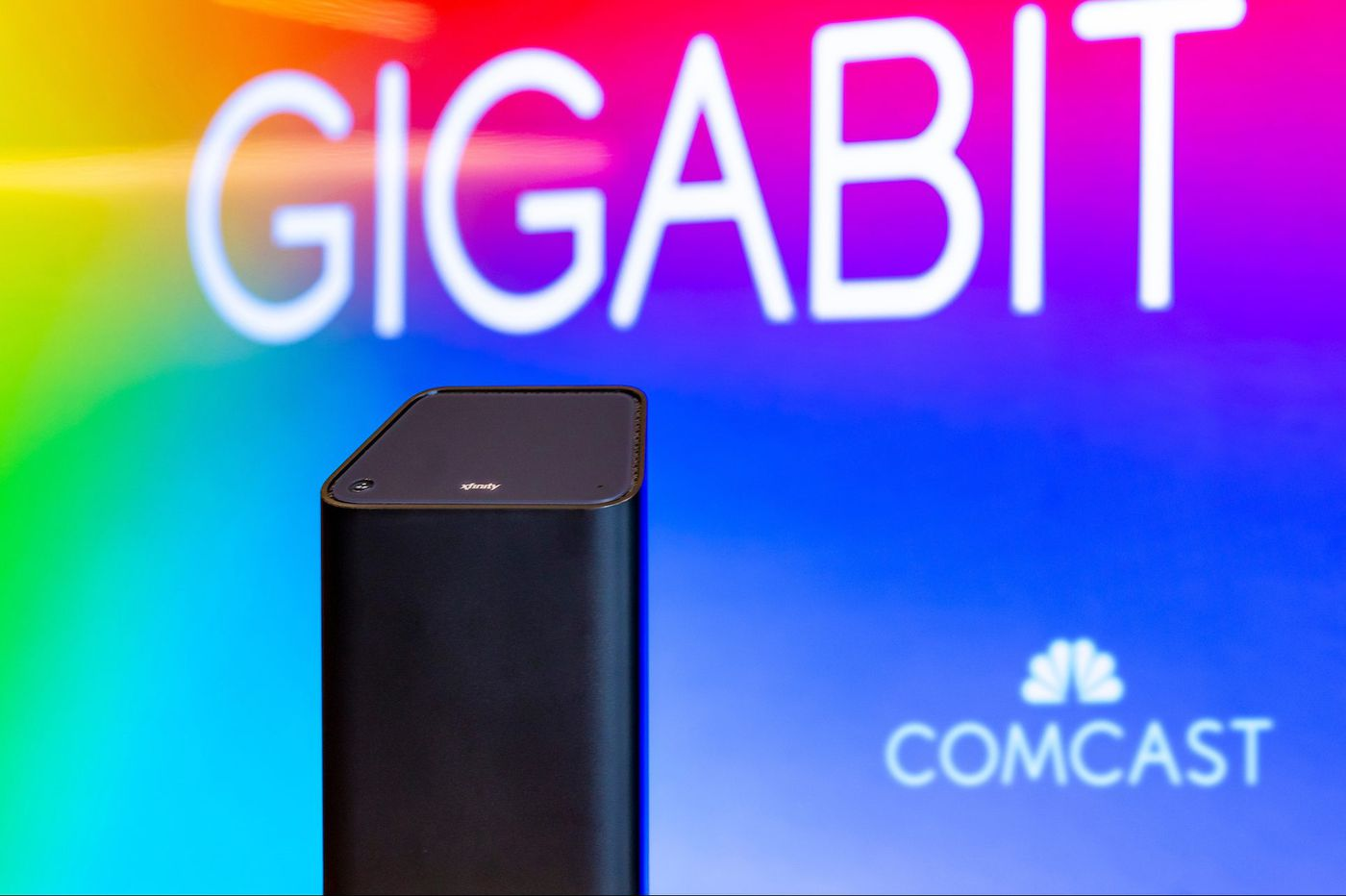 Comcast says that almost 58 million homes can get gigabit service