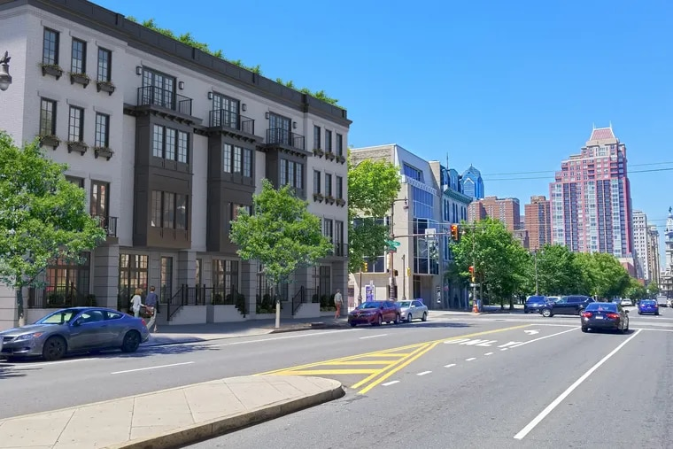 At South Broad and Fitzwater Streets in South Philadelphia, Brooklyn-based Heights Capital Partners is planning to build 10 townhouses this fall, which are expected to cost $2 million each.