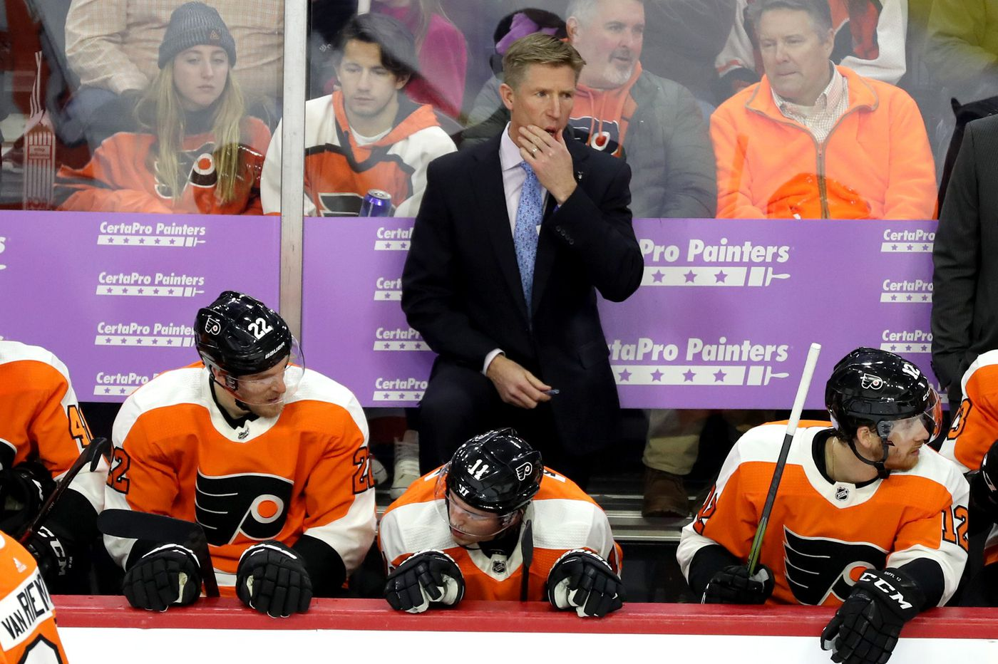 Dave Hakstol and his Flyers get a chance to reset and reprieve after Chuck Fletcher hiring | Sam Donnellon