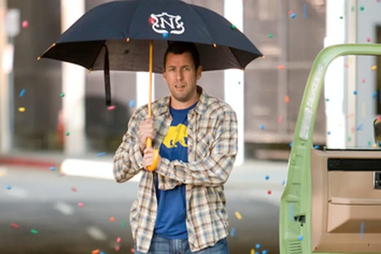 Adam Sandler is a baby sitter whom the kids love - and that makes him attractive to women.