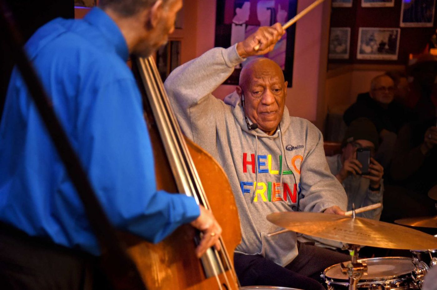 With retrial looming, Bill Cosby takes the stage at Germantown club for first public performance in years