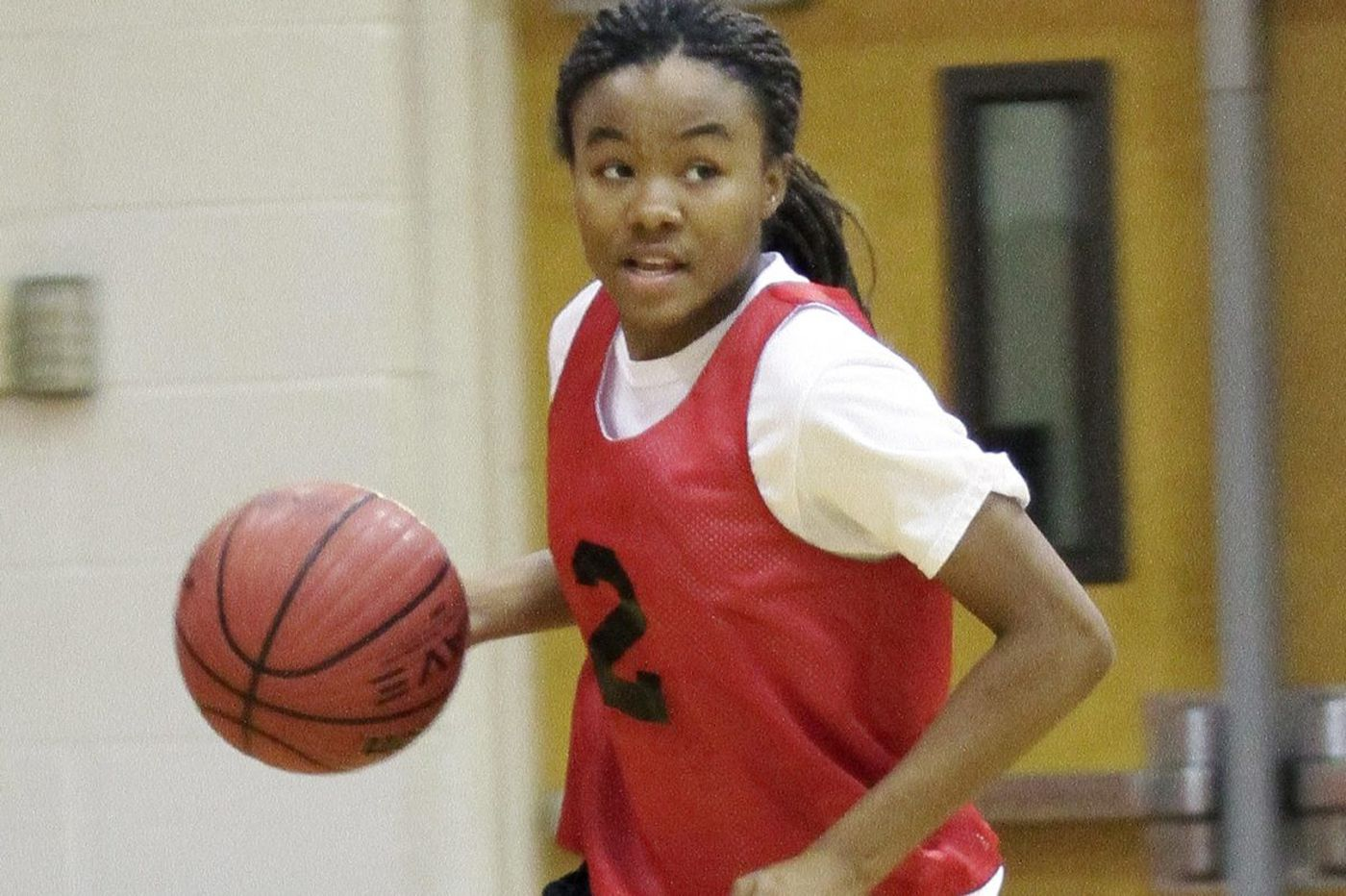 Morgan Robinson is a leader and scorer for Kingsway girls' basketball