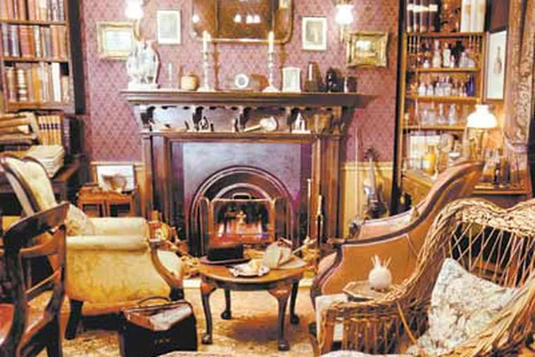 The Sherlock Holmes Museum has a replica of Holmes and Watson's rooms on the second floor. (Charlotte Observer)