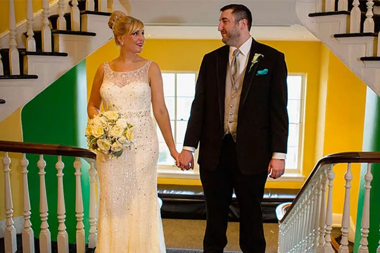 Kate Toy and Jon Bettner wed on February 15, 2014.