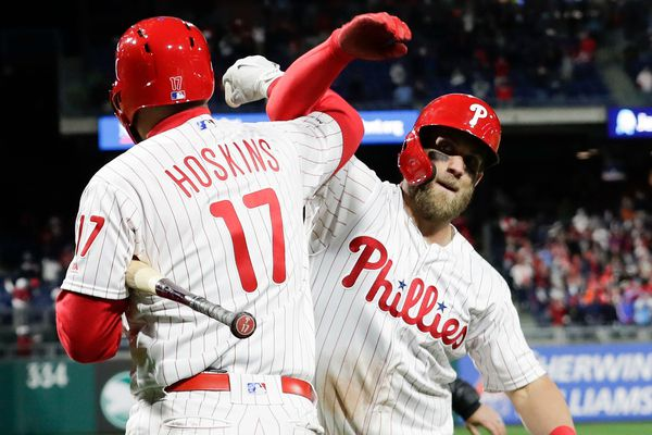 Will Bryce Harper and handshakes combine to rile Phillies' opponents? | Bob Ford