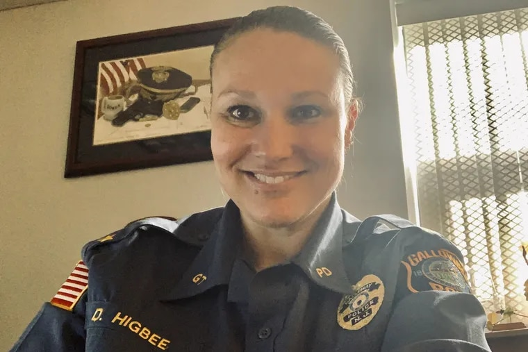 Galloway Township Police Chief Donna Higbee oversees a department of 50 sworn officers. She became the first female chief in her community five years ago.