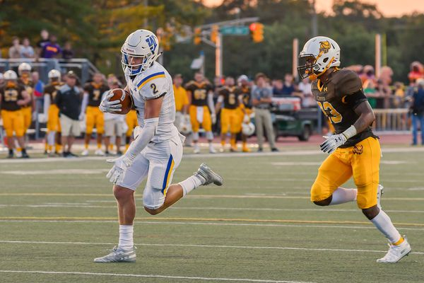 James Gillespie, Collin's big brother, is putting up big numbers as Widener's star receiver
