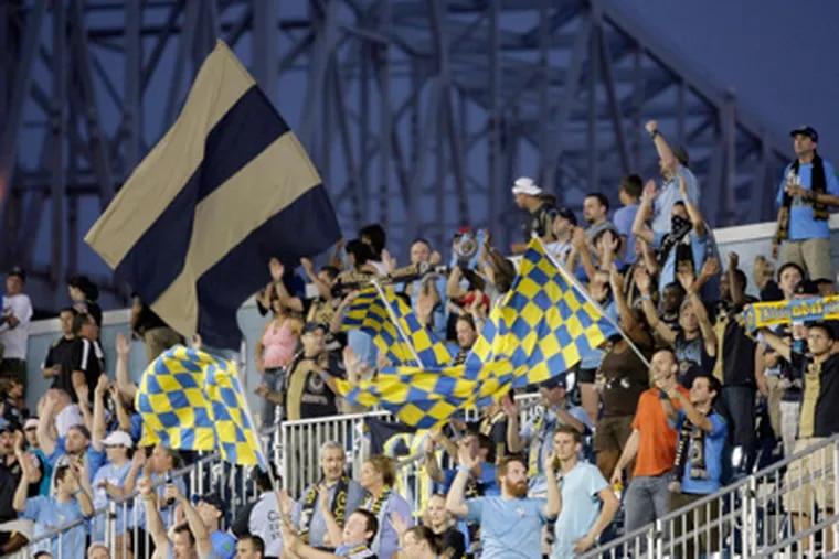 The big crowds at PPL Park provided some of the lasting memories of the Union's inaugural season. (Yong Kim/Staff file photo)