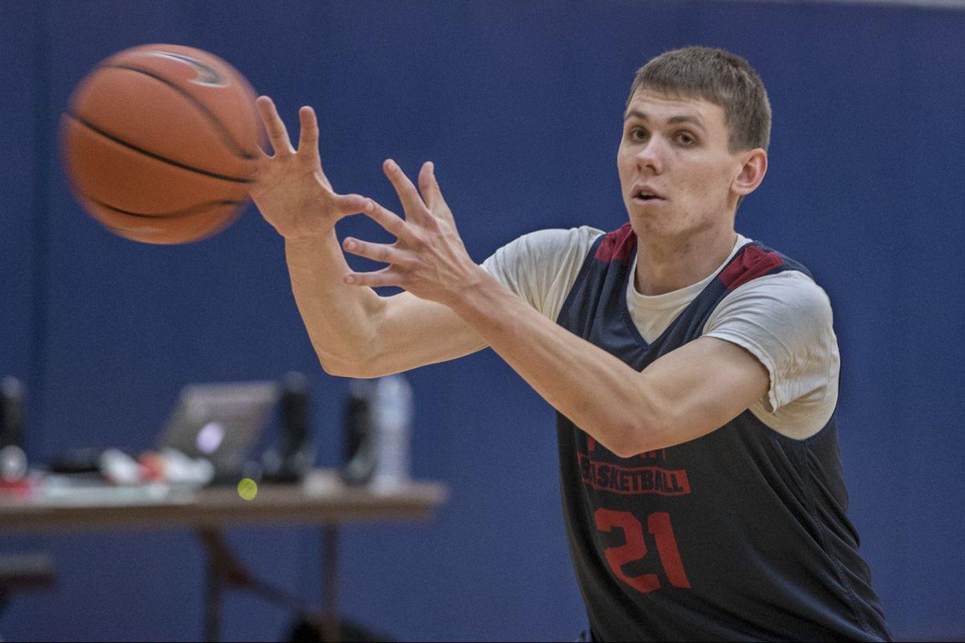 Penn's Ryan Betley a rising star after first season's finish