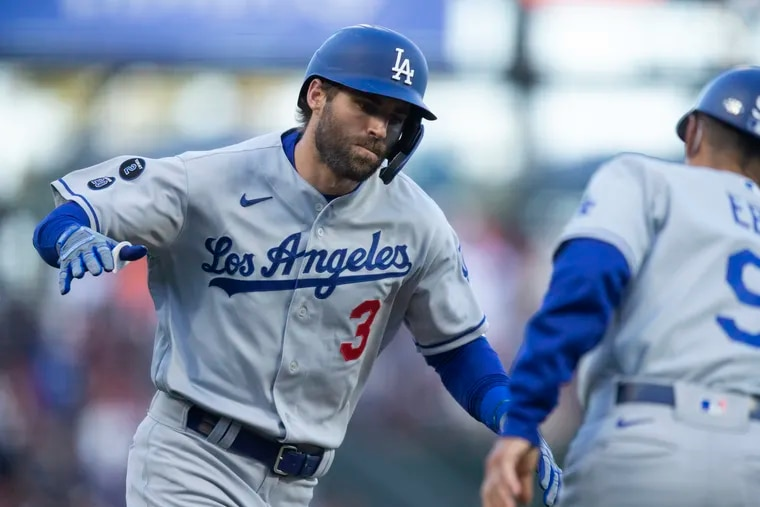 The versatility of the Dodgers' Chris Taylor should be appealing to the Phillies.