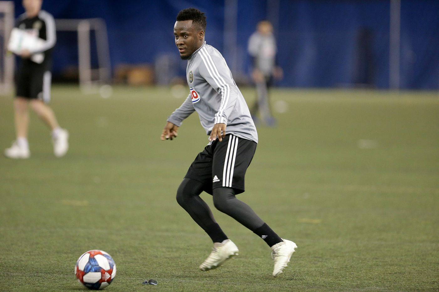 Union's David Accam wants to quiet critics as he finally puts injuries behind him