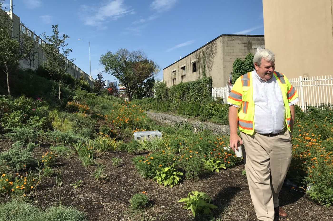 Those surprising gardens along I-95 in Fishtown? They'll manage Olympic amounts of stormwater