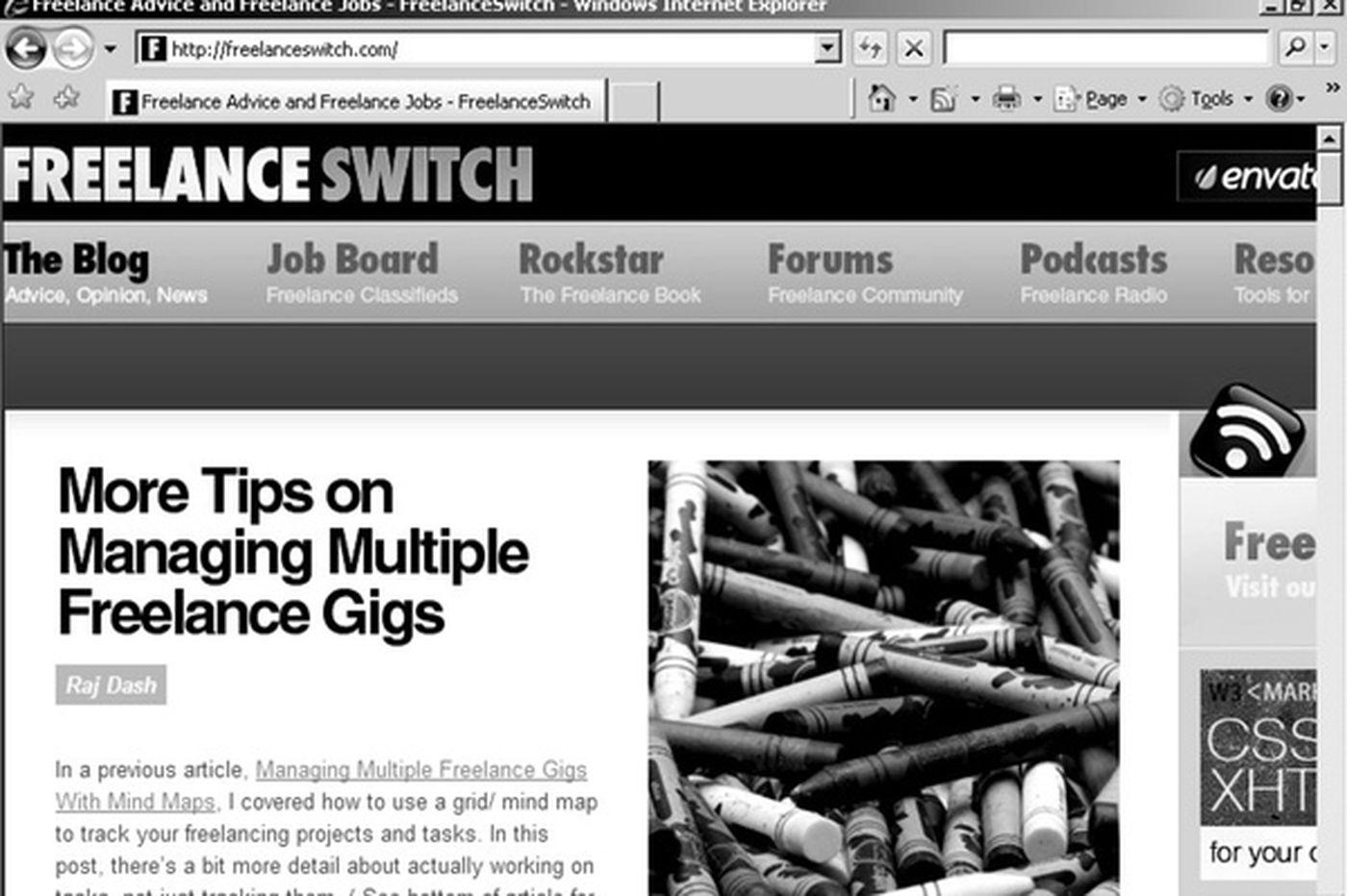 Web Wealth: Freelance work