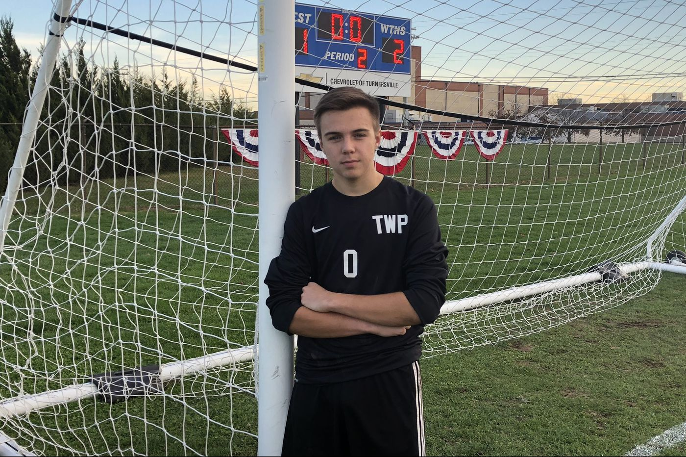 Goalkeeper Mike Pagano coming up big for Washington Township in soccer