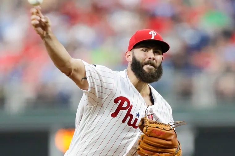 Phillies pitcher Jake Arrieta is reportedly recovering well from his September elbow surgery.