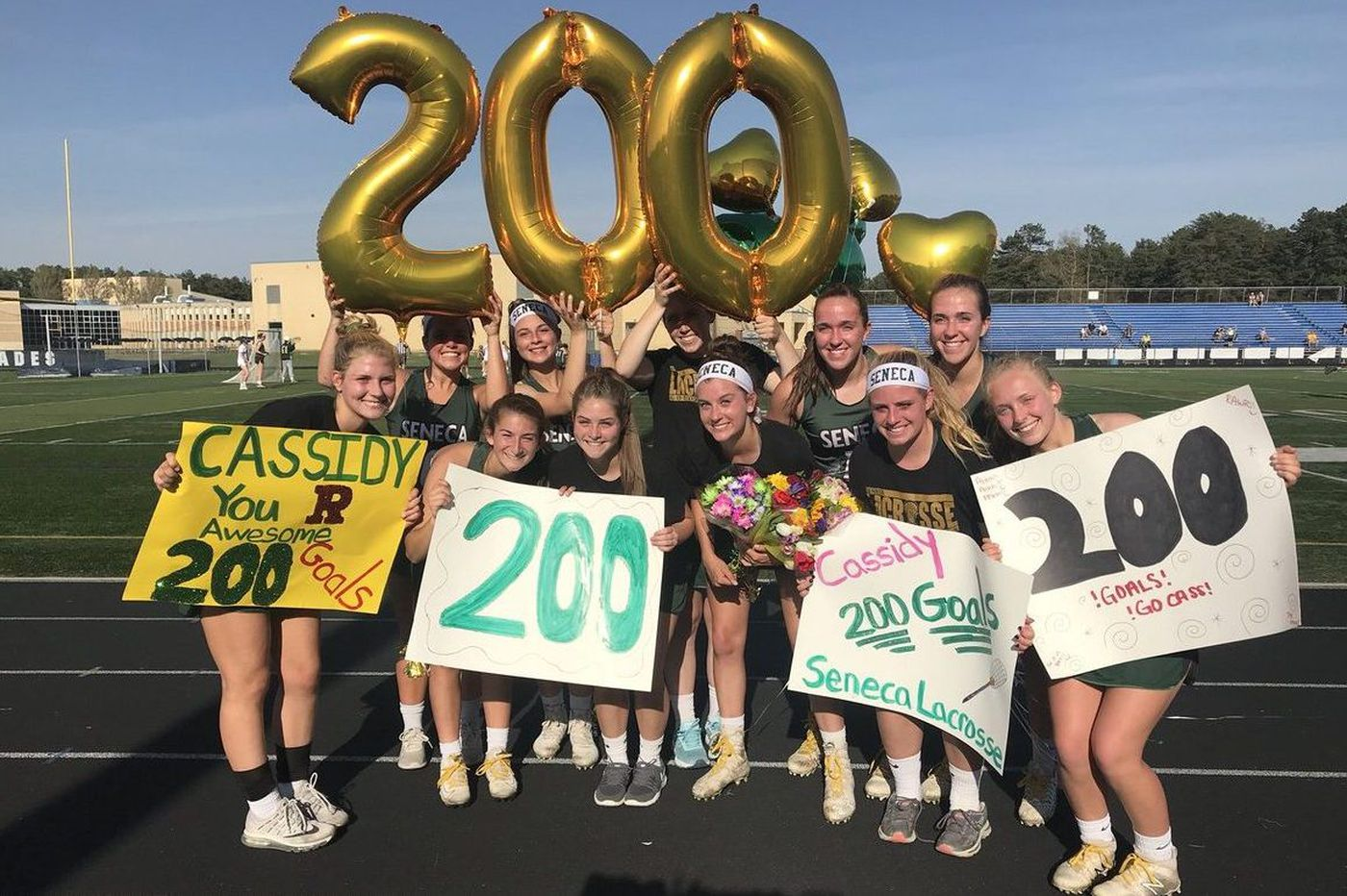 Wednesday's South Jersey roundup: Cassidy Spillis nets 200th goal in Seneca's win