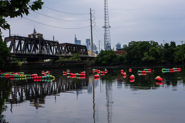 Art to see in Philly now: Floating on the Schuylkill and on display at the airport
