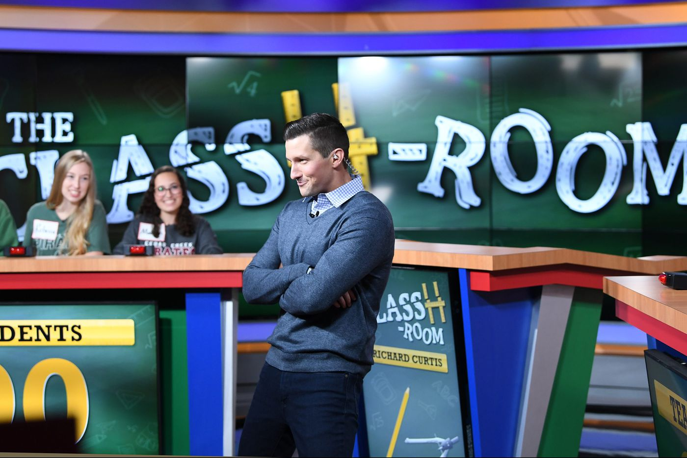 You may recognize the host of Fox29's 'The ClassH-Room' from 'Live with Kelly' – or from his class at a local high school