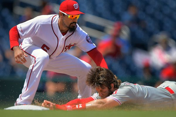 Phillies' offense goes quiet again in doubleheader sweep by Nationals