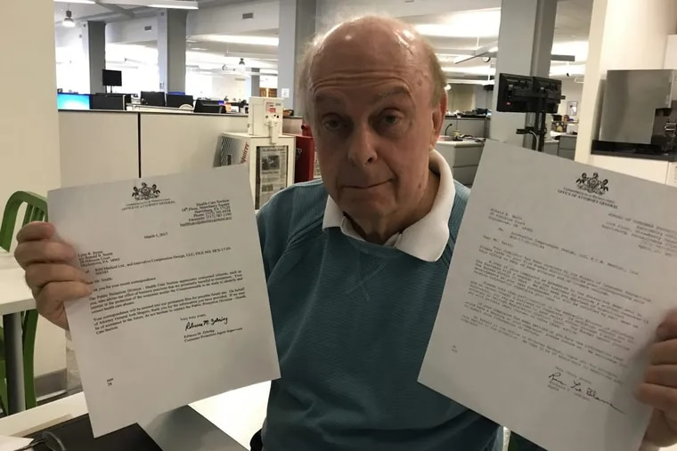 Ron Smith, 82 and a retired businessman, contends he lost hundreds of thousands of dollars to a start-up that had phony financials; he's contacted state regulators to investigate, but to no avail.