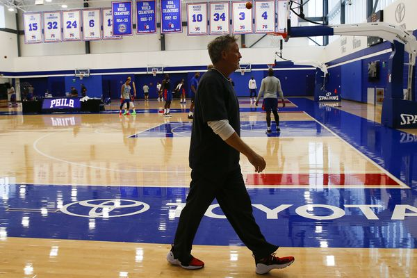 Brett Brown's Sixers journey reaches NBA title contention