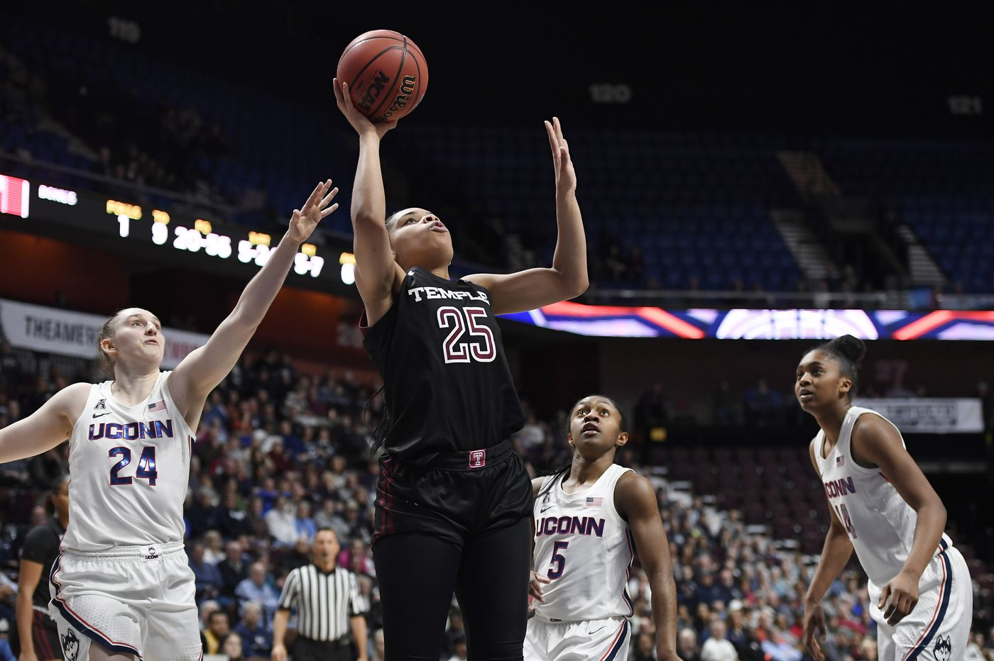 Temple's Mia Davis named Big 5 player of the year; Villanova's Harry Perretta earns coach of the year honors