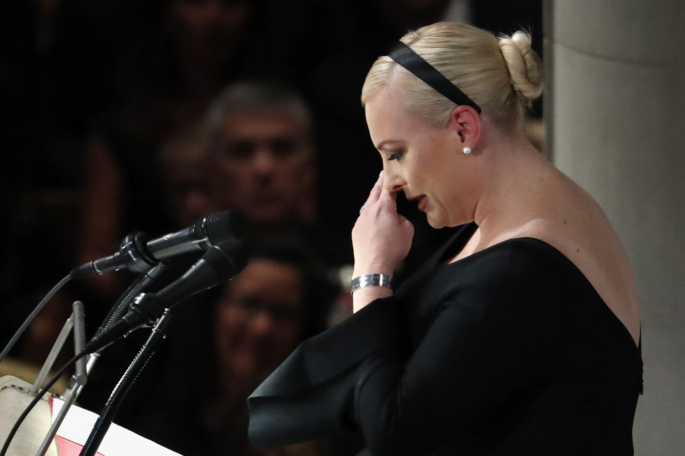 Meghan McCain's weaponized eulogy for her father   Christine Flowers