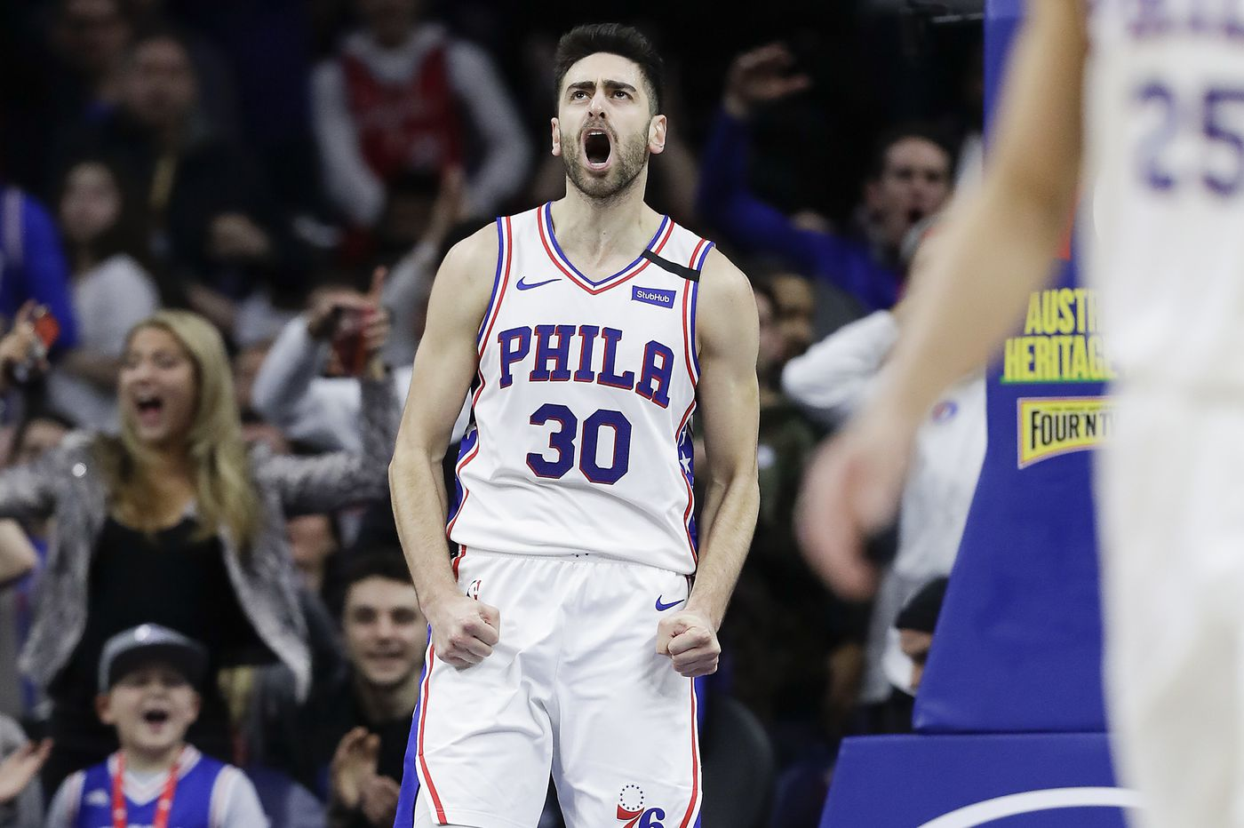 Furkan Korkmaz provides 'lightning in a bottle' by coming off Sixers' bench
