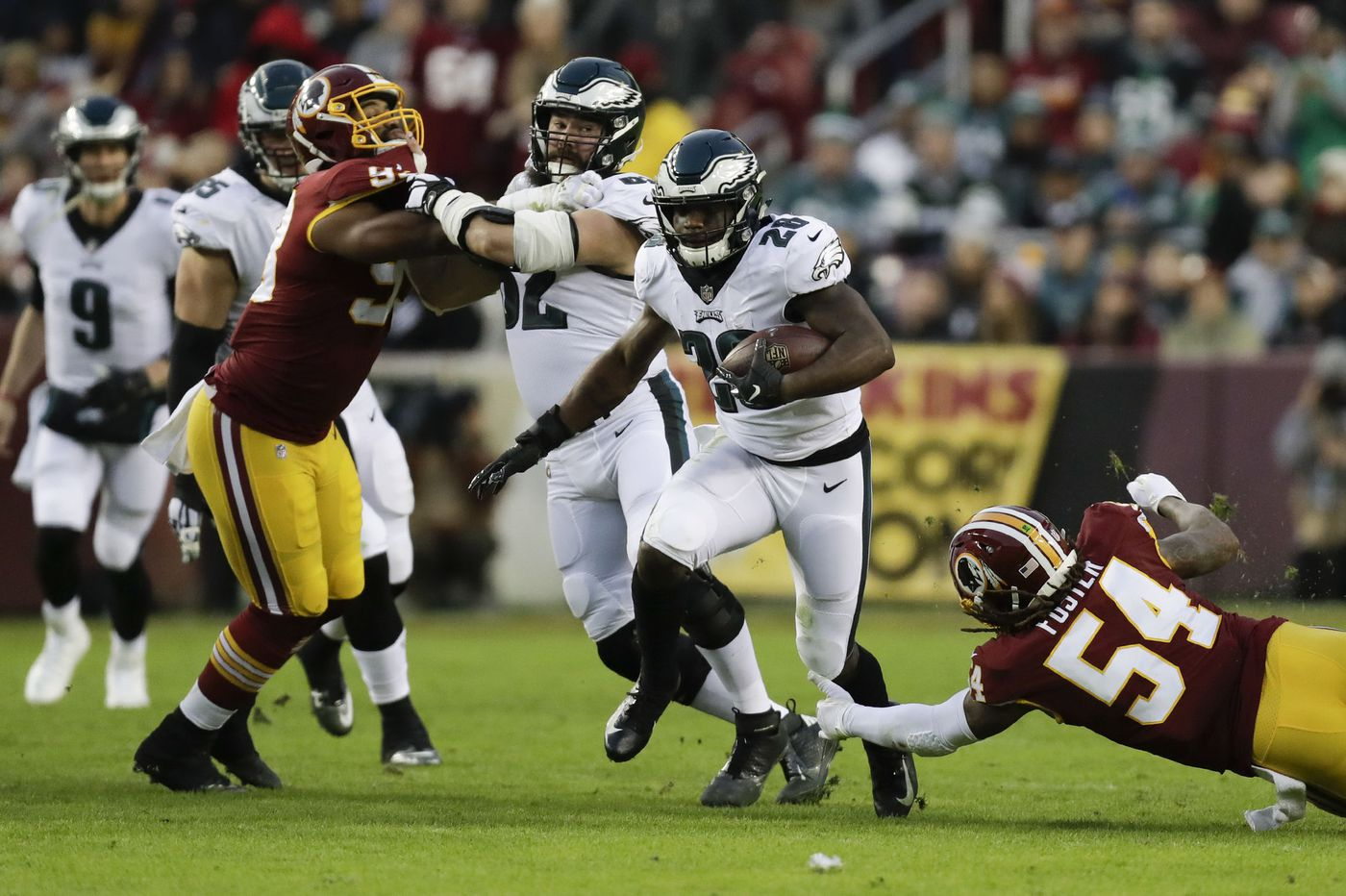 Eagles played keep-away, dominated Redskins and the clock, then watched it tick down on Minnesota