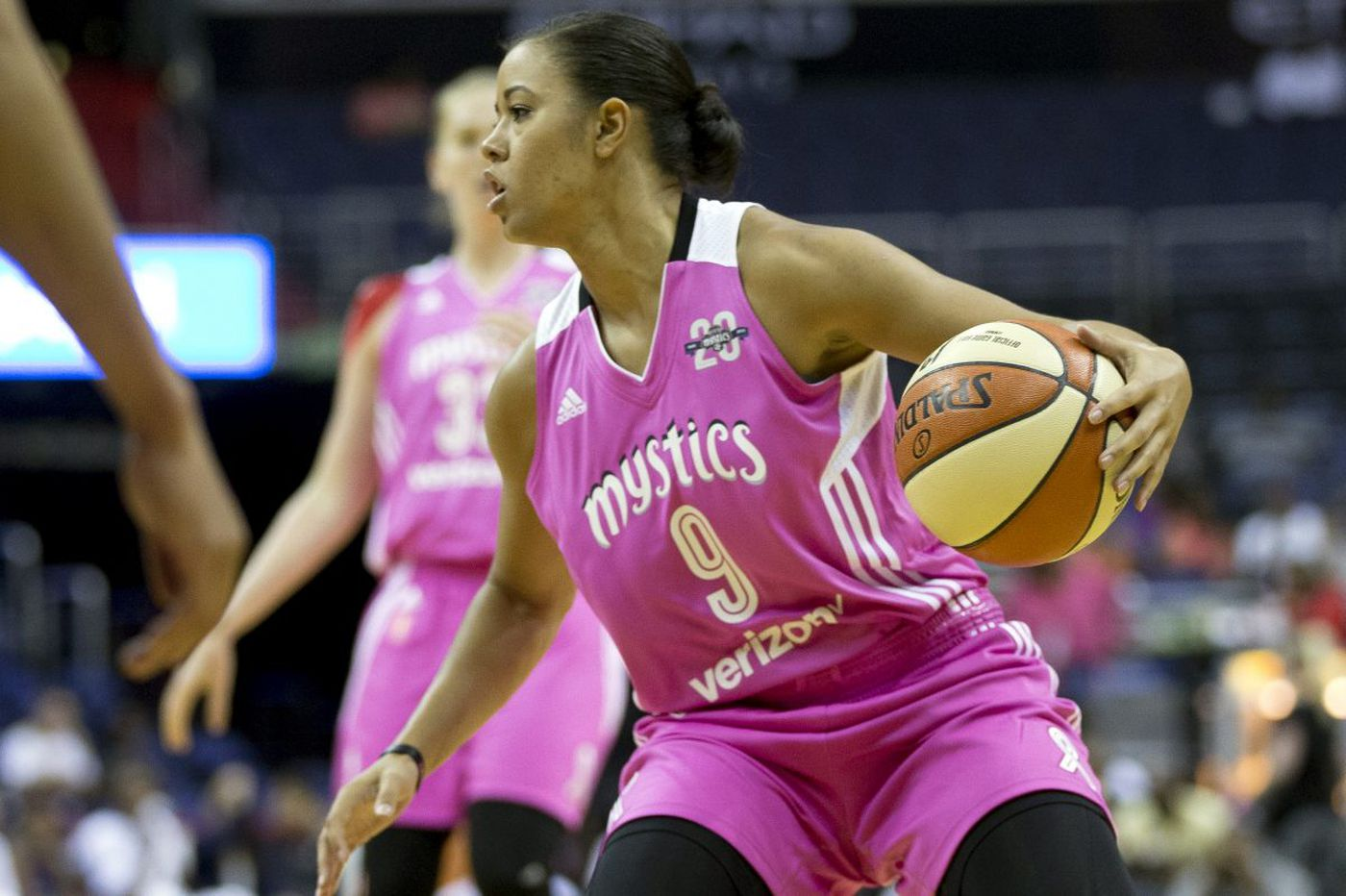 The WNBA's Natasha Cloud and a voice that carries