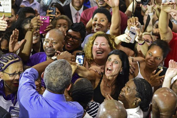 Democrats turn to Obama to 'energize' midterm votes in Philly rally