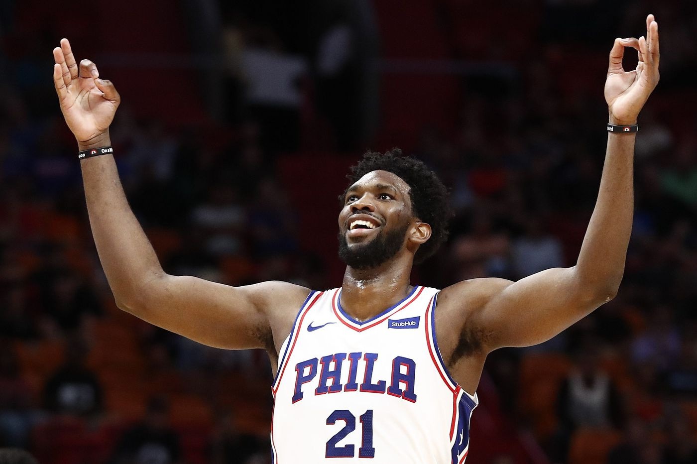 When the Sixers' Joel Embiid doesn't score 35 points, he says, 'I feel like it's a bad game'