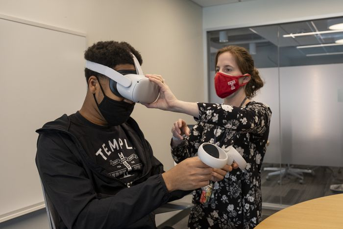 Temple's business school sees virtual reality as future of online learning