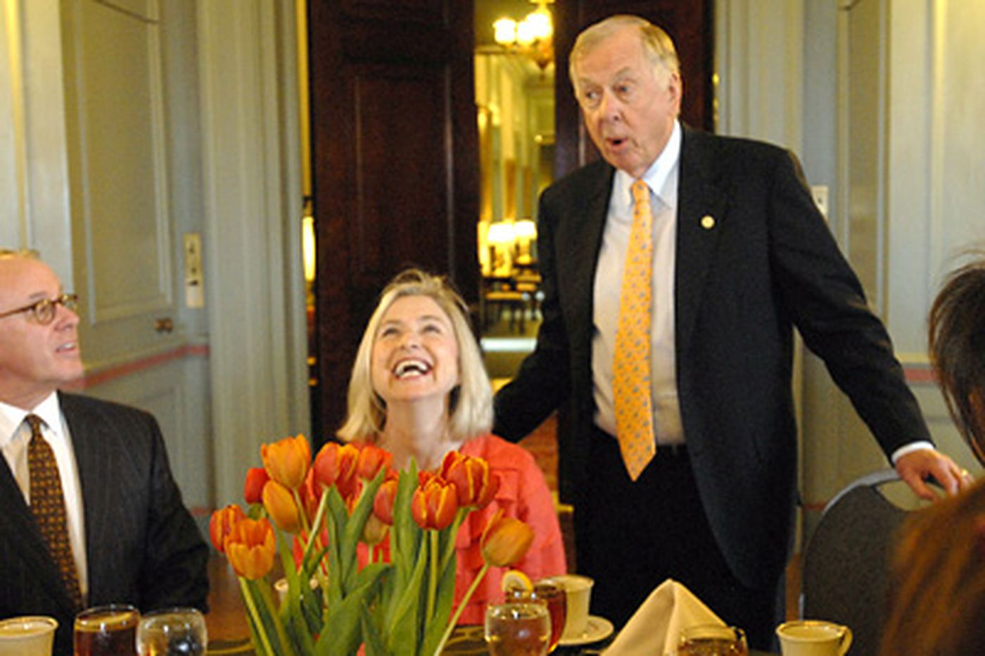 T. Boone Pickens offers energy answer