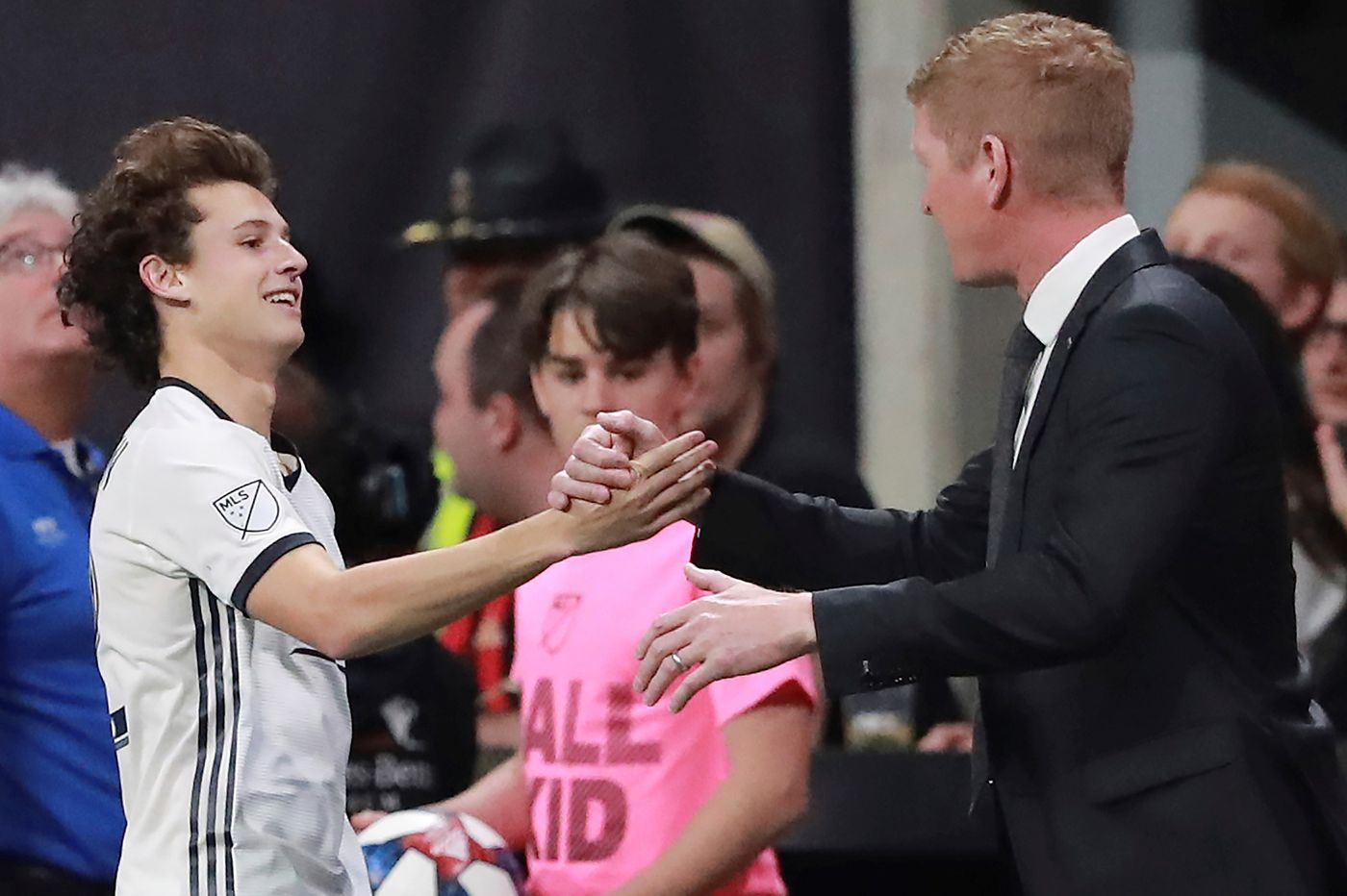 Medford's Brenden Aaronson officially arrives as a pro with first goal for Union