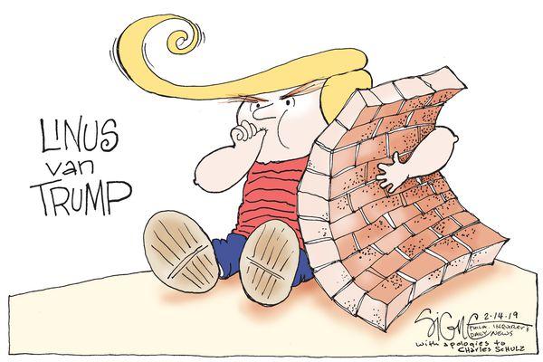 Political Cartoon: Linus van Trump