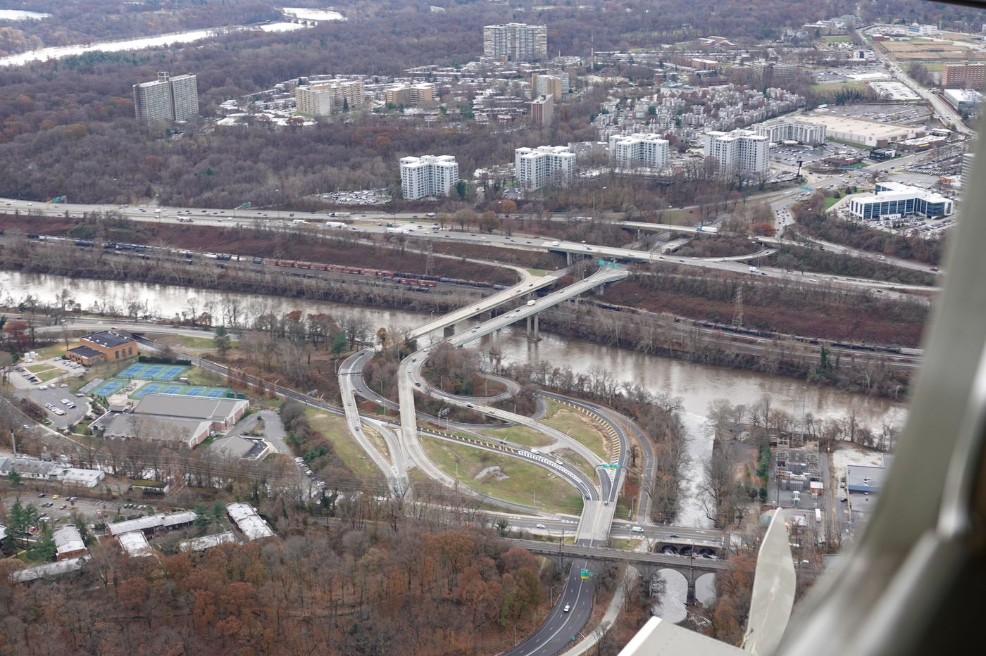 Threats to Wissahickon Creek: A view from 800 feet up