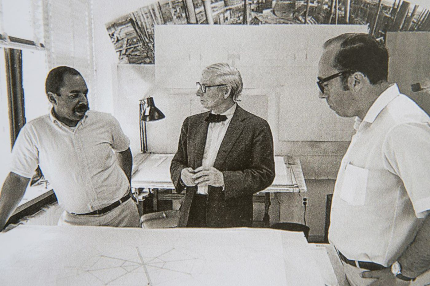 The overlooked African American architect who completed Louis Kahn's masterpiece