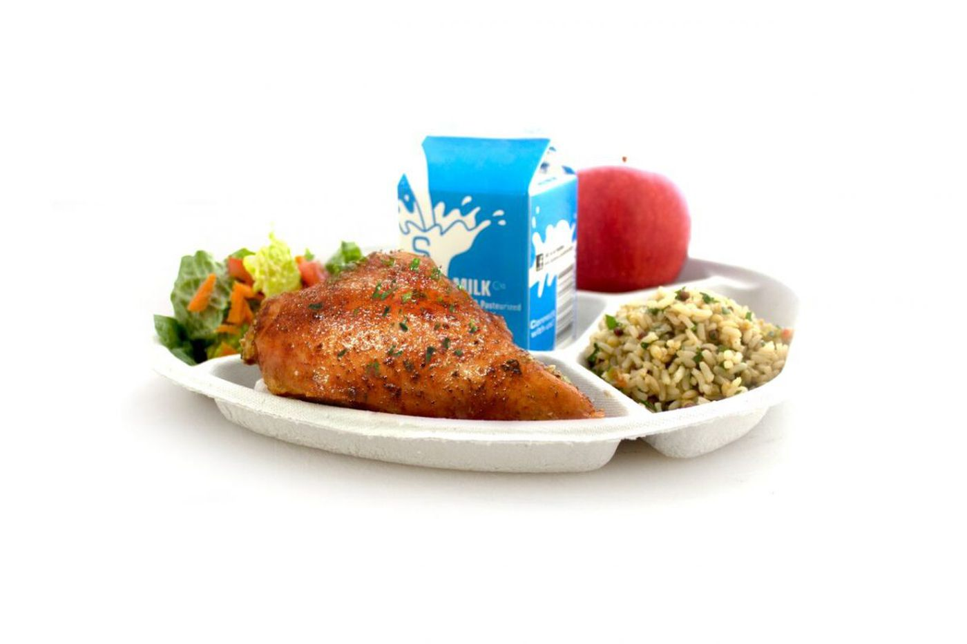 Philly schools ditch Styrofoam trays, embrace a greener lunch option