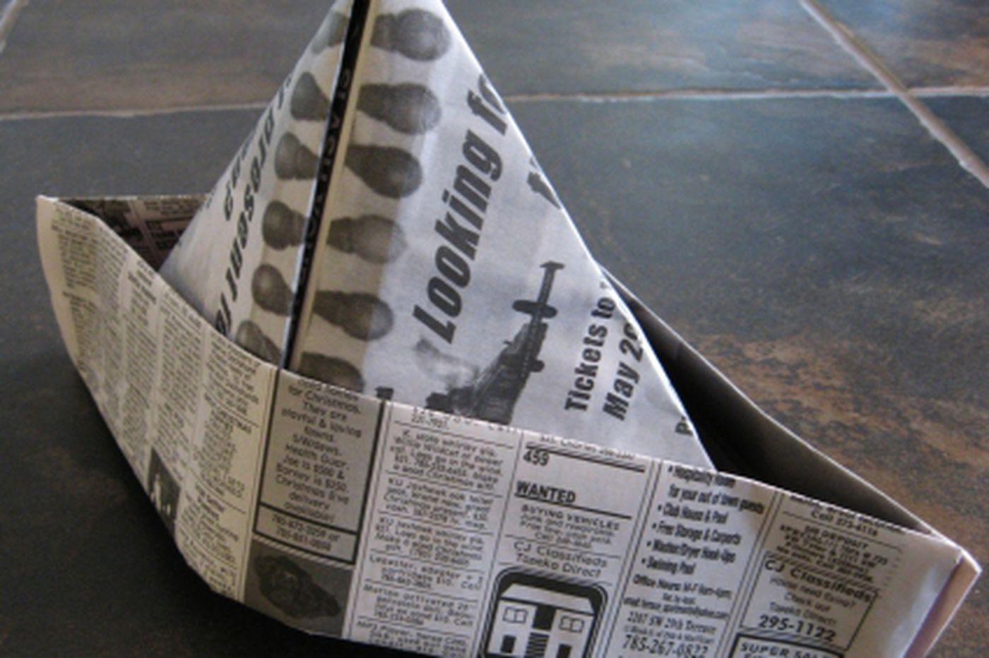 Silver newspaper anniversary