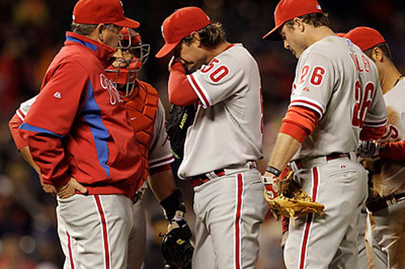 Phils Fall Out of First