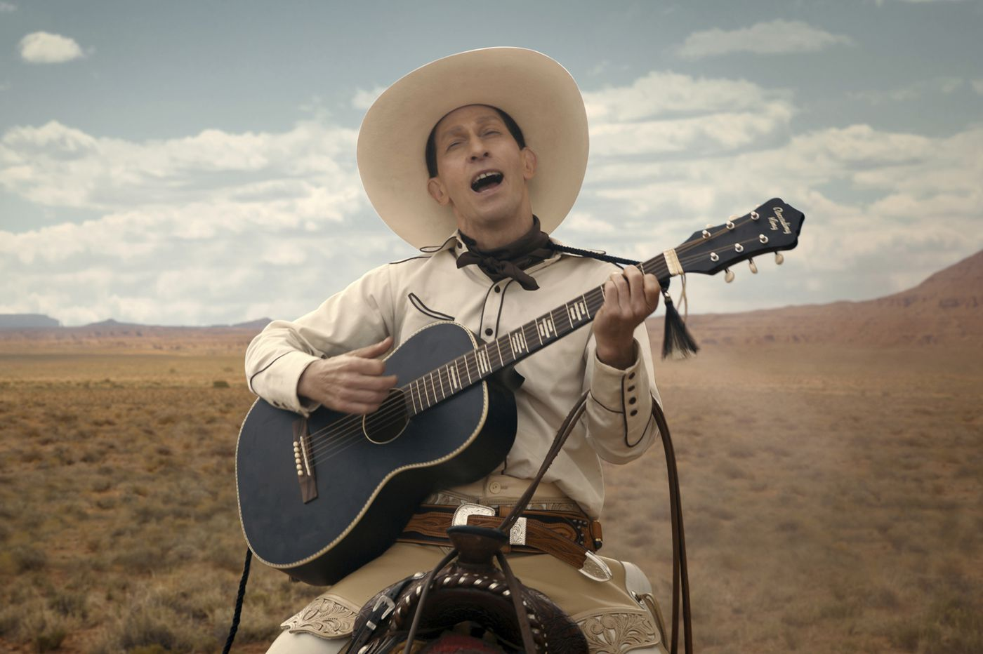 The Western saga 'The Ballad of Buster Scruggs' find the Coen brothers back in the saddle