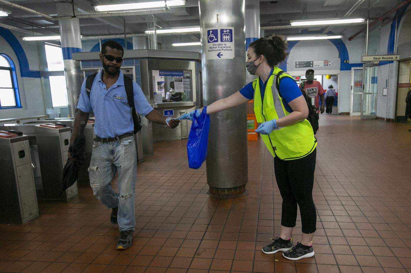 SEPTA's 'social-distancing coaches' are sticking around to boost mask wearing