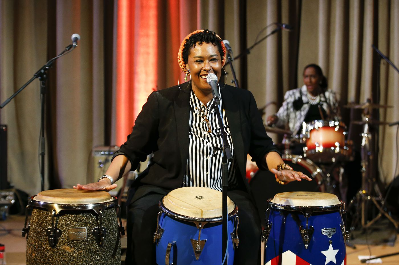At Drum Like a Lady, anyone can tap into the power of percussion