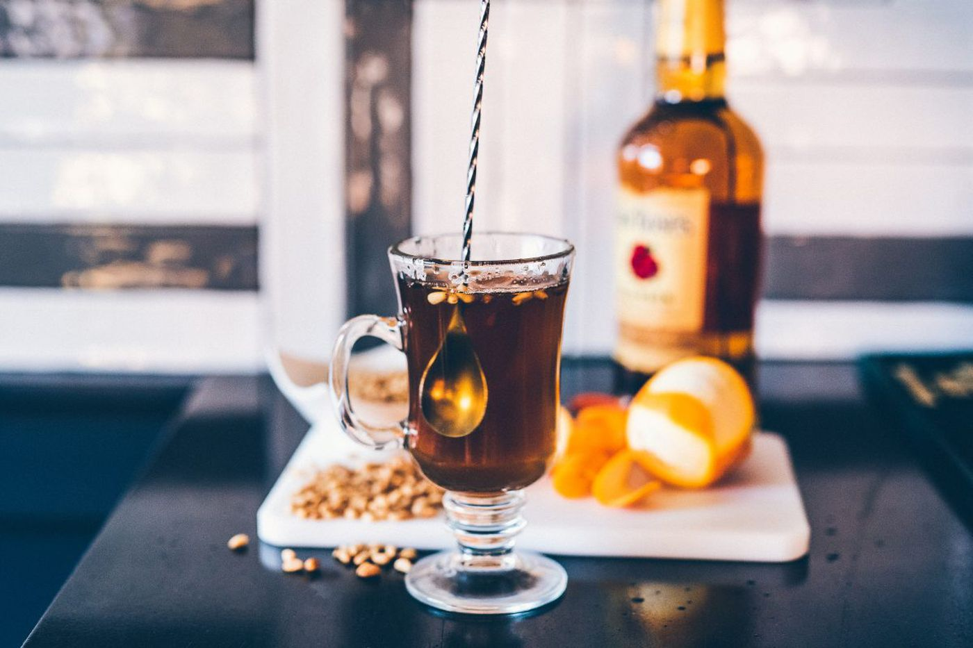 Celebrate the final weeks of winter with a bar crawl for warm cocktail
