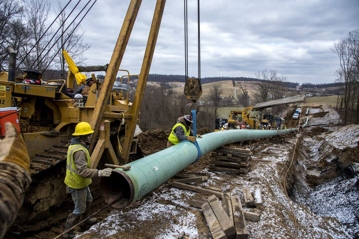 Pa. judge temporarily halts Mariner East 2 pipeline drilling construction