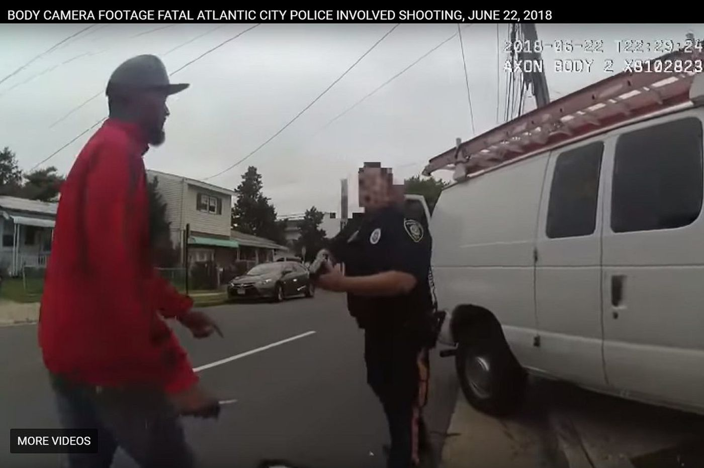 A.C. cop cleared in fatal shooting of armed man