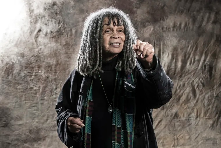 A portrait of Sonia Sanchez for the Black Joy series in 2017.