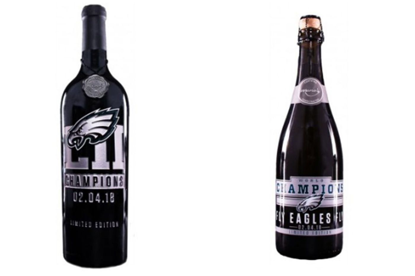Eagles unveil commemorative Super Bowl wines