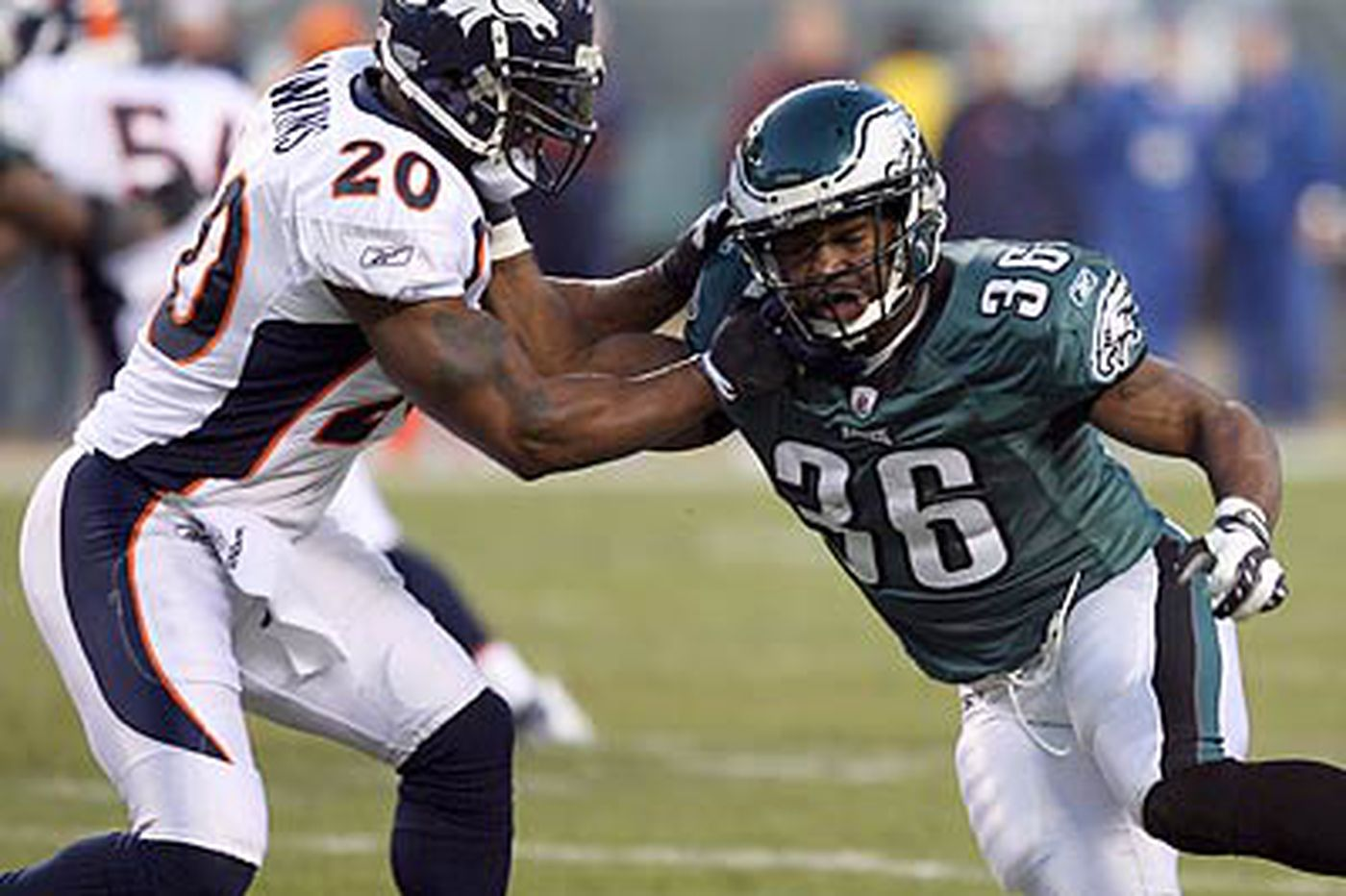 Eagles' Westbrook says ankle no cause for concern